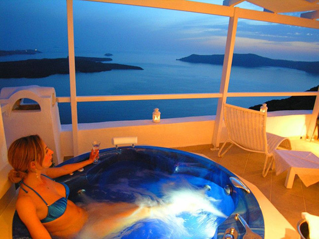 imerovigli santorini accommodation - Aeolos Studios & Suites